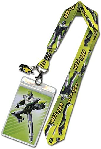 Great Eastern Entertainment Tiger & Bunny Wild Tiger Lanyard by Great Eastern Entertainment