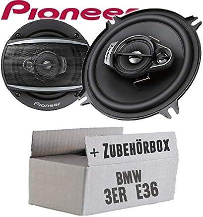 Pioneer Lautsprecher Boxen 130mm Kompo Fussraum Vorne BMW 3er 93-00 E36 Compact