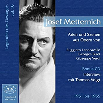 Legenden des Gesanges, Vol. 10: Josef Metternich (1951-1955)