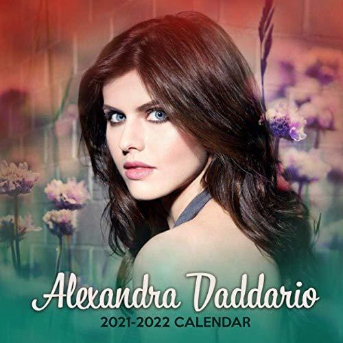 Alexandra Daddario 2021-2022 Calendar: 18 Months Calendar of 2021, Jan. 2021 - June. 2022