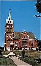 Swiss United Church of Christ New Glarus, Wisconsin Original Vintage Postcard