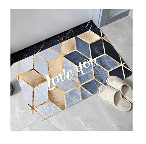 Qianqingkun Prachtige afwerking deurmatten in het tapijt deurmat anti-slip mat tapijt