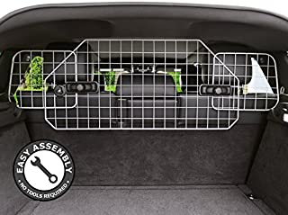 Dog Barrier for SUVs, Cars and Vehicles, Heavy-Duty - Adjustable Pet Barrier, Universal Fit