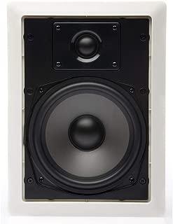 MartinLogan ML-65 Rectangular In-Wall/In-Ceiling speaker, pair (Paintable White)