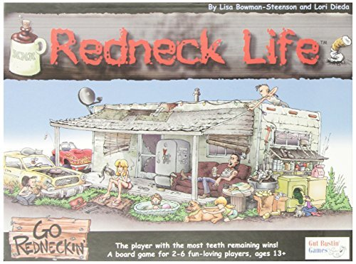 Redneck Life Board Game by Gut Bustin' Games