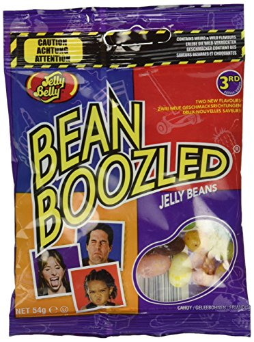 Jelly Belly Bean Boozled Refill Beutel, 2er Pack (2 x 54 g)