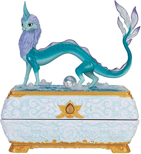 Disney Raya and The Last Dragon Sisu Dragon Chest Jewelry Box Features Color Changing Lights & Music!
