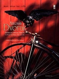 Dvorak Quintet In A Major Opis 81 For Piano Two Violins Viola Cello Book/CD