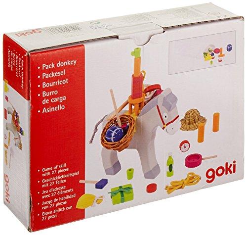 Goki- Juegos familiaresJuegos Tipo ponerle la Cola al burroGOKIBurro de Carga II, Multicolor (1)