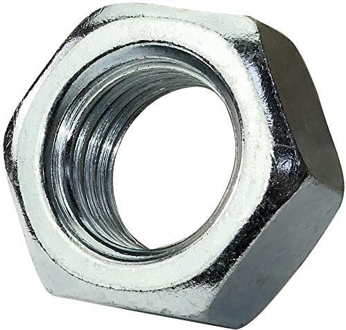 AERZETIX - Juego de 5 - Tuercas hexagonales 6 lados - Piezas Metálicas/Separado/Apriete/Ensamblaje - Acero galvanizado 8.8 - Rosca M24 Métrica Hembra - Bricolaje - DIN 934 - Color plata - C45722