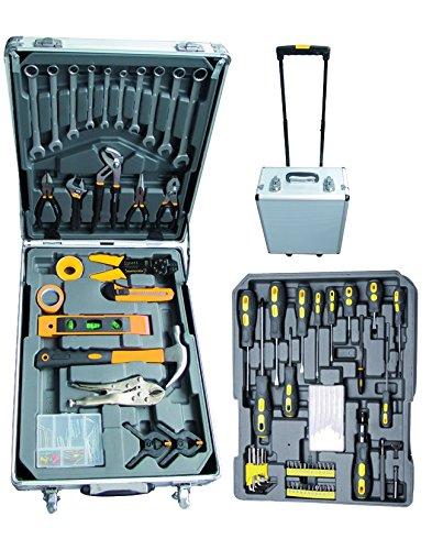 Vigor 3648025Set Werkzeug Koffer Trolley Mod. vau-v142