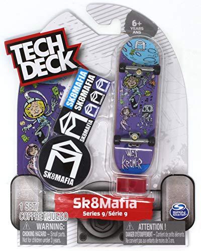 Tech Deck Sk8Mafia Skateboards Ultra Rare Series 9 Wes Kremer Space Fun Fingerboard