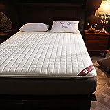 MKXF Matelas de futon de Plancher, Matelas Pliable pour Le dortoir d'étudiant d'appartement de lit à la Maison