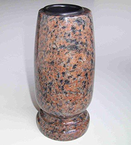 Designgrab Classico-medium Vase funéraire en granit Gneis Halmstad/Barap
