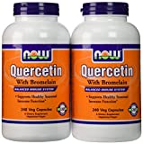 Now Foods Quercetin with Bromelain, Veg-Capsules,480 (2 Pk X 240)