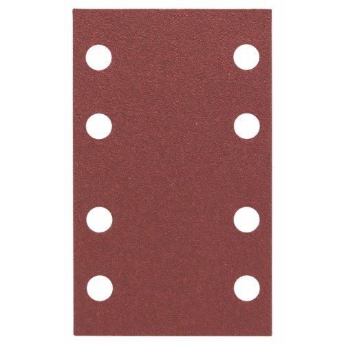 Bosch Professional Schleifblatt für Schwingschleifer Holz und Farbe Expert for Wood an Paint (10 Stück, Körnung 80, C430)