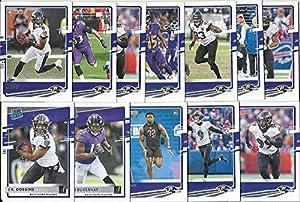 2019 2020 Panini Donruss Football Baltimore Ravens 2 Team Set Lot Gift Pack 21 Cards W/Rookies