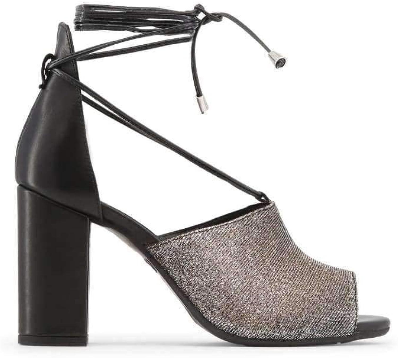Made in Italia Women Black Amalia Sandals