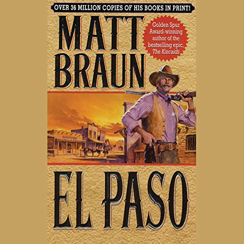 El Paso audiobook cover art
