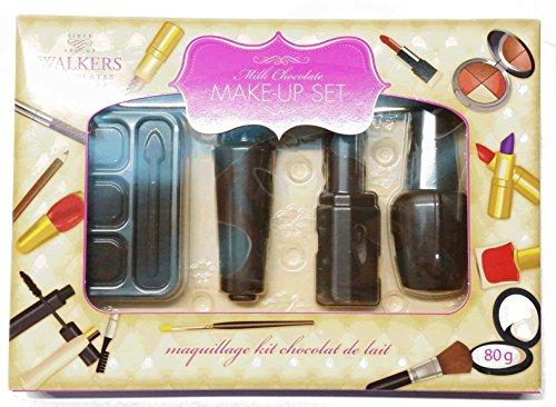 Set de maquillaje de chocolate con leche - perfecto para los amantes del maquillaje 80 gramos