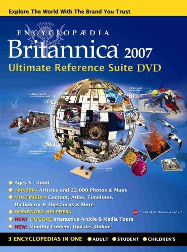 Encyclopaedia Britannica 2007 DVD