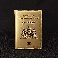 林クレジットカードホルダークリップID文書マネーバッグホルダー(ピンク) Chenhuis (Color : Gold)