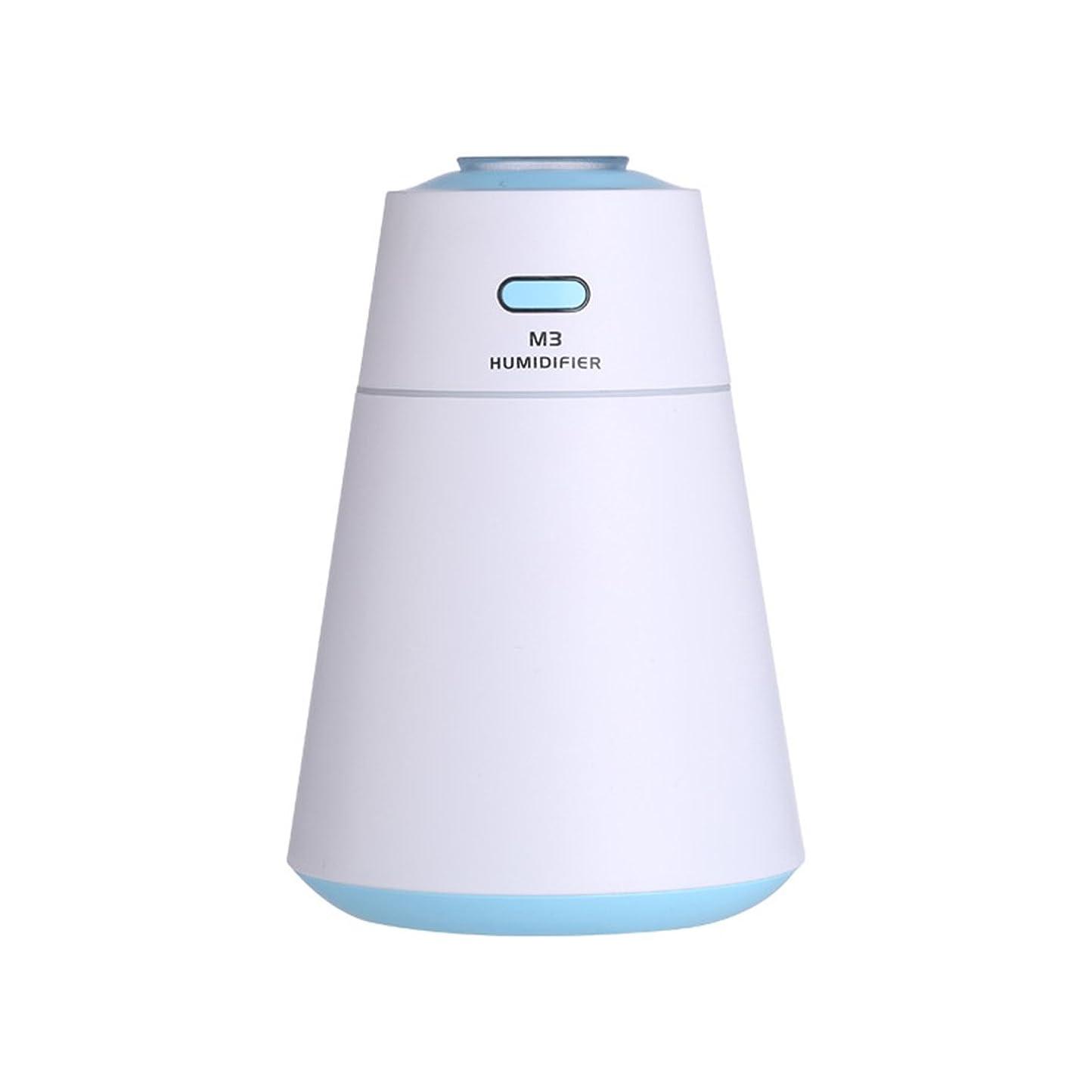 コール手順動作Nekovan 加湿器ミニポータブルホームサイレントデスクトップタイミング電源オフアンチドライ小型USB加湿器 (色 : 青)