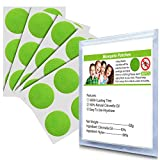 BuggyBands 96Pack Mosquito Patches Stickers for Kids Adult - Natural Plant Based Ingredients, Deet Free