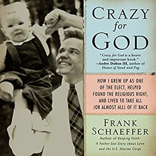 Crazy for God audiobook cover art