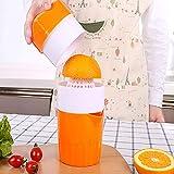 Energeti Multifunktionsküche manuelle Entsafter Fruchtsaftpresse Saft Tasse Mini tragbare Entsafter...