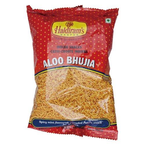 インド アルーブジア 150g 1袋 Haldiram's ALOO BHUJIA ナムキン ナムキーン Namkeen スナック菓子 おつまみ 珍味