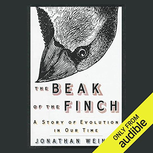 The Beak of the Finch  audiobook cover art