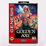Aditi Golden Axe Game Cartridge 16 bit MD Game Card With Retail Box For Sega Mega Drive For Genesis (US BOX)