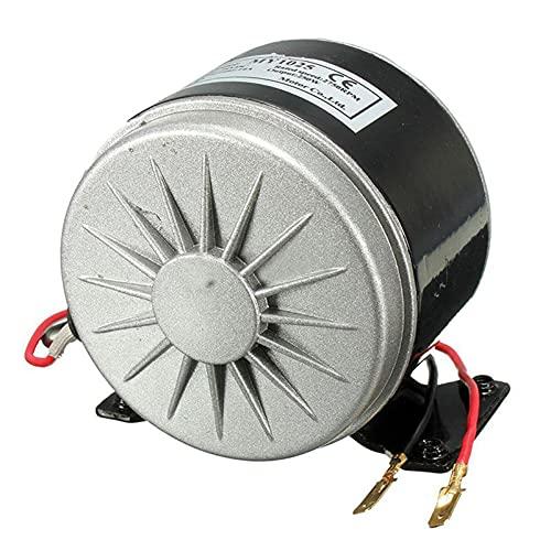QWERTOUR Motor eléctrico de 24 V Cepillado 250W 2750RPM Cadena para el Control de Velocidad de transmisión de Scooter