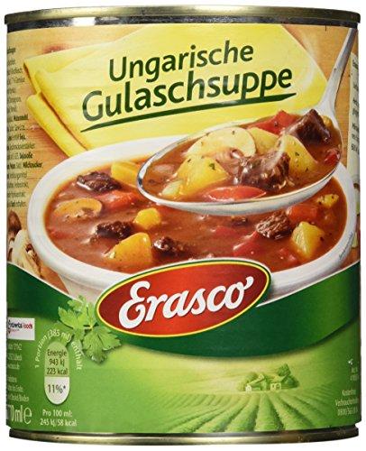 Erasco Ungarische Gulaschsuppe, 2er Pack (2 x 770 ml)