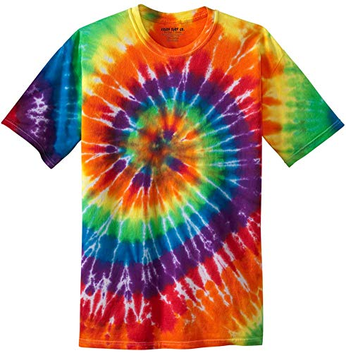 Koloa Surf Co.Colorful Tie-Dye T-Shirt,4XL-Rainbow