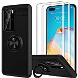 LK Case for Huawei P40 Pro, [Ring Kickstand] Anti Scratch