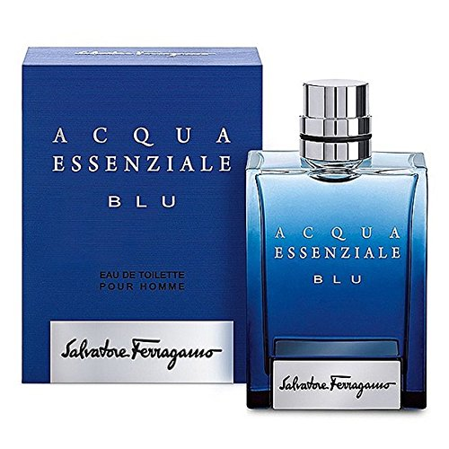 Salvatore Ferragamo Acqua Essenziale Blu Spray for Men, 3.4 Ounce