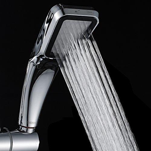 DAMOYAR soffione per doccia, 30% di risparmio di acqua, 300% di pressione turbo