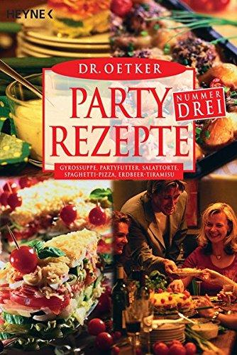 Partyrezepte Nr. Drei: Gyrossuppe, Partyfutter, Salattorte, Spaghetti-Pizza, Erdbeer-Tiramisu