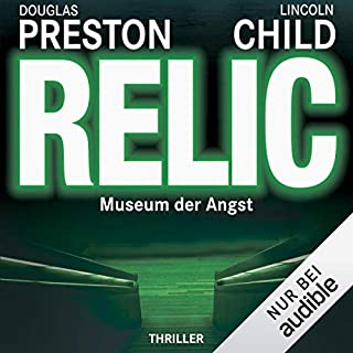 Relic: Museum der Angst     Pendergast 1              De :                                                                                                                                 Douglas Preston,                                                                                        Lincoln Child                               Lu par :                                                                                                                                 Thomas Piper                      Durée : 17 h     1 notation     Global 3,0