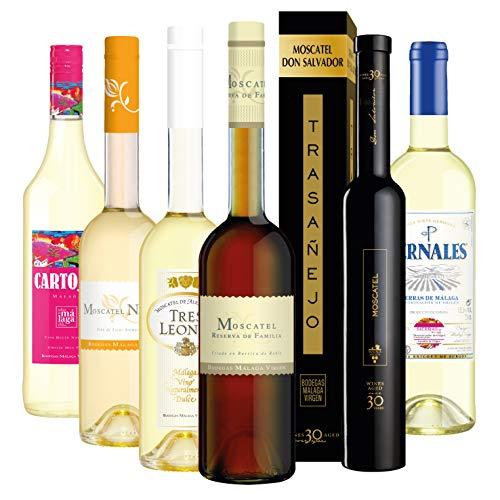 Viva Moscatel - Pack 6 botellas de vino de la variedad Moscatel