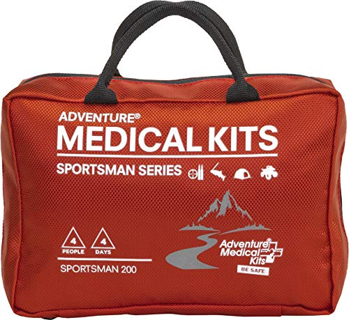 Adventure Medical Kits Sportsman 200 Medical Kit Red/Black 01050200 One Size