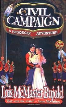 Science fiction book reviews Lois McMaster Bujold Miles Vorkosigan The Vor Game, Mirror Dance, Cetaganda, Memory, Komarr, A Civil Campaign