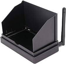 Amyove 5.8G Máquina de recepción y transmisión FPV en Tiempo Real Pantalla de Copo de Nieve portátil de Mano 4.3 Pulgadas sin DVR