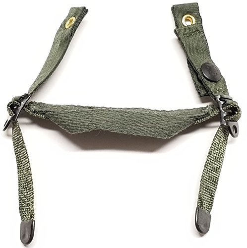 New genuine Us Army Issue OD Green Chin Strap for Pasgt Kevlar Helmet