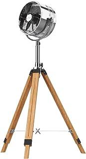 Cecotec Ventilador tr'pode EnergySilence 1200 Woody. Tr'pode Madera, 3 aspas, 12 Pulgadas, 30 cm di‡metro, 3 velocidades, 80 W, Altura e inclinaci—n Regulable