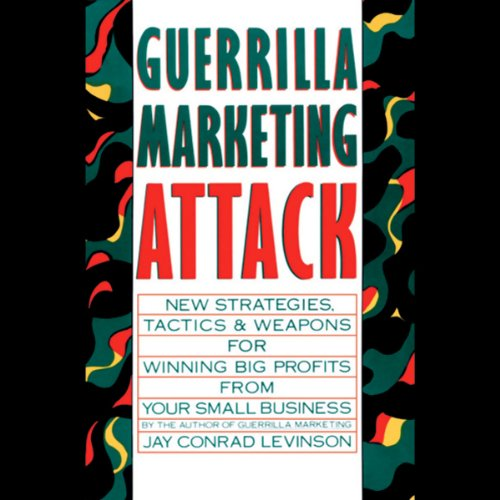 Guerrilla Marketing Attack audiobook cover art