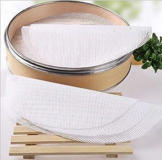 GWHOLE 10 PCS Silicone Steamer Mat 20 cm Steamer Liner Non-Stick