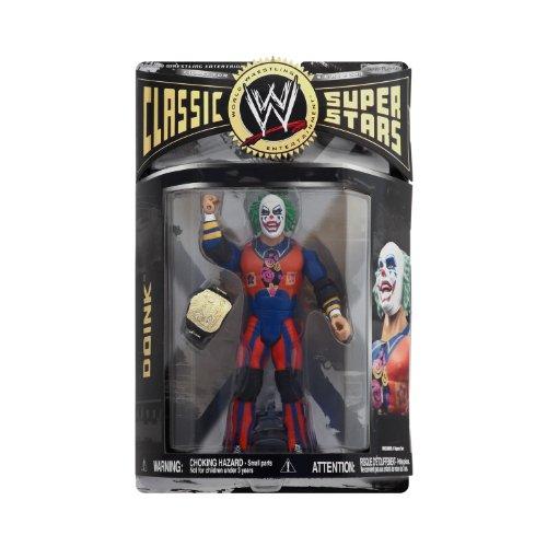 WWE Wrestling Classic Superstars Series 27 Action Figure Evil Doink the Clown by Jakks Pacific